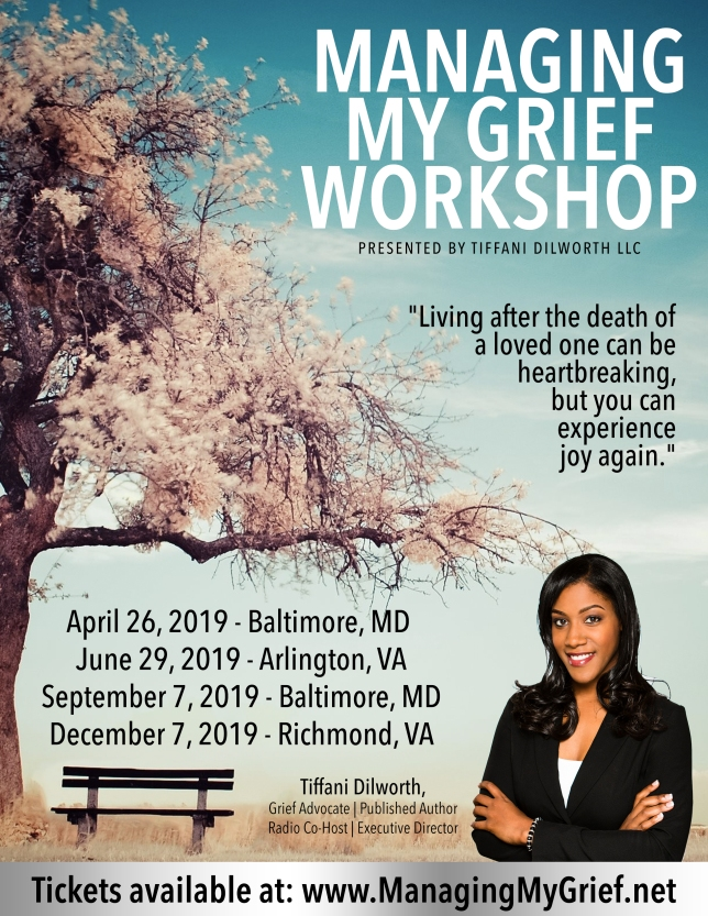 New Managing My Grief